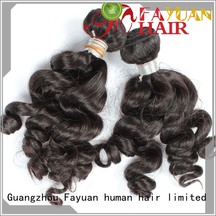 Fayuan indian real indian hair weave factory for men
