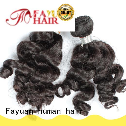 grade indian hair weave series for barbershop Fayuan