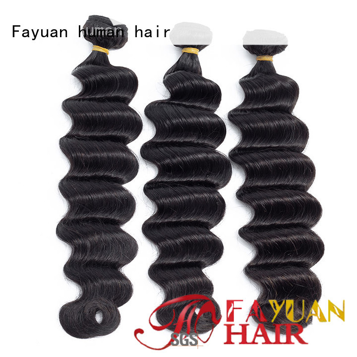 Fayuan loose wet and wavy weave manufacturers for women
