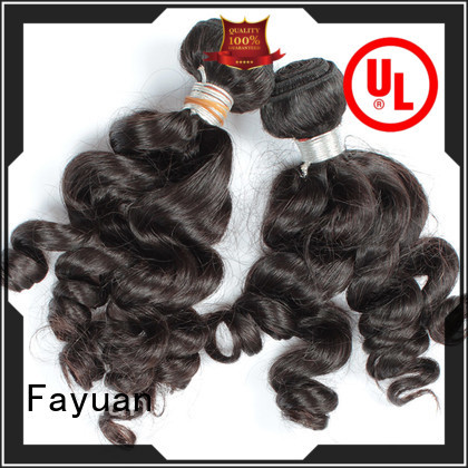 Fayuan virgin indian human hair price company for selling