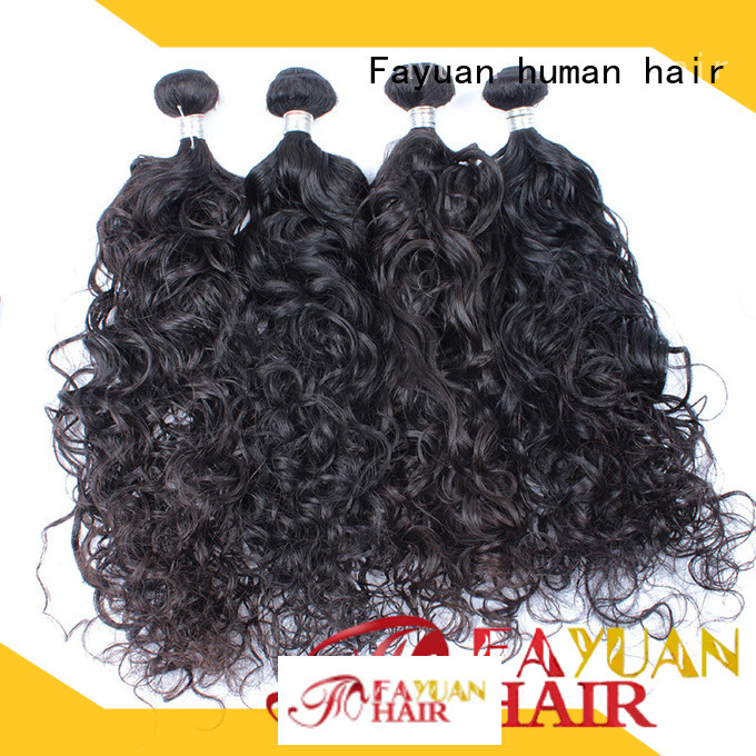 Fayuan human malaysian curly hair bundles manufacturers for selling