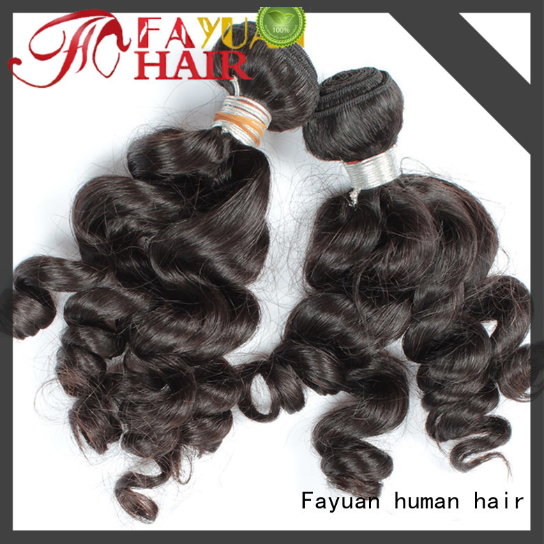 Fayuan virgin cheap hair extensions Suppliers for barbershop