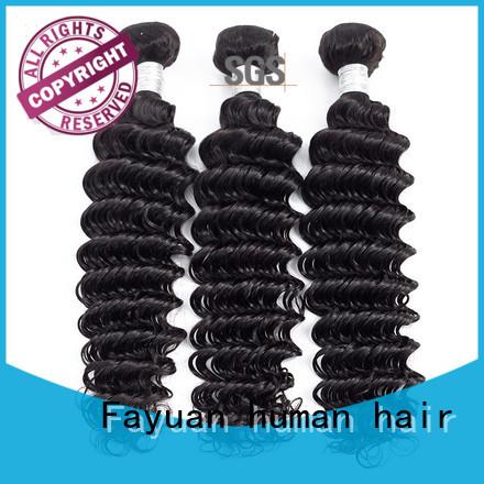 Fayuan virgin natural hair weave series for men