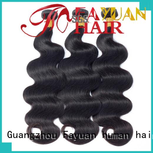 Fayuan Custom peruvian hair bundles for sale for business for street