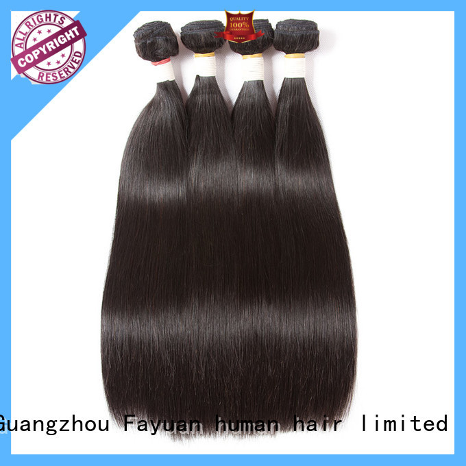 Fayuan body brazilian hair bundles wholesale factory for barbershop