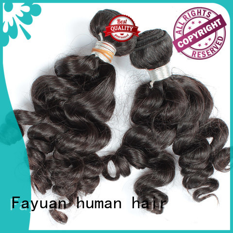 Fayuan virgin raw indian hair hair for barbershop