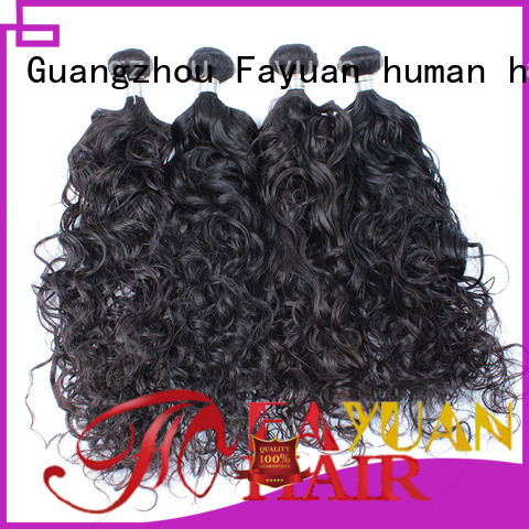 Fayuan Latest malaysian human hair weave factory for barbershopp