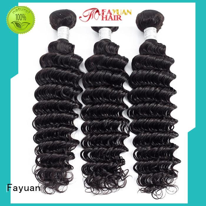 Fayuan Custom peruvian hair weave for sale Suppliers for barbershop
