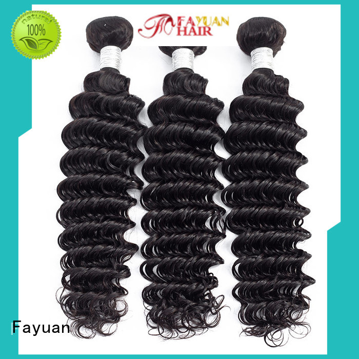 Fayuan Custom wholesale peruvian hair weave for business for men