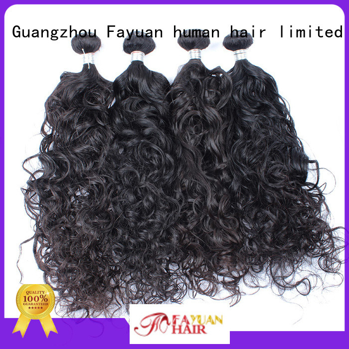 Fayuan deep wavy hair human for barbershopp