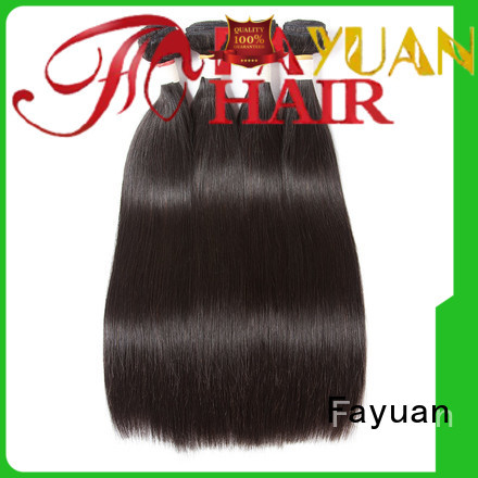 Fayuan straight brazilian human hair for sale Suppliers for street