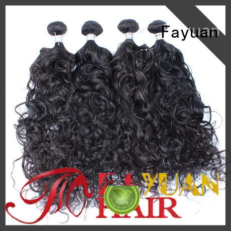 Fayuan wave cheap malaysian hair manufacturers for men