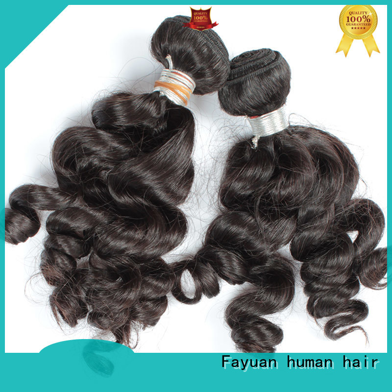 Fayuan deep indian hair extensions series for street