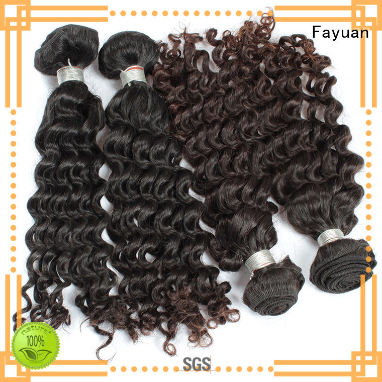 Fayuan Best malaysian hair weave for sale manufacturers for men