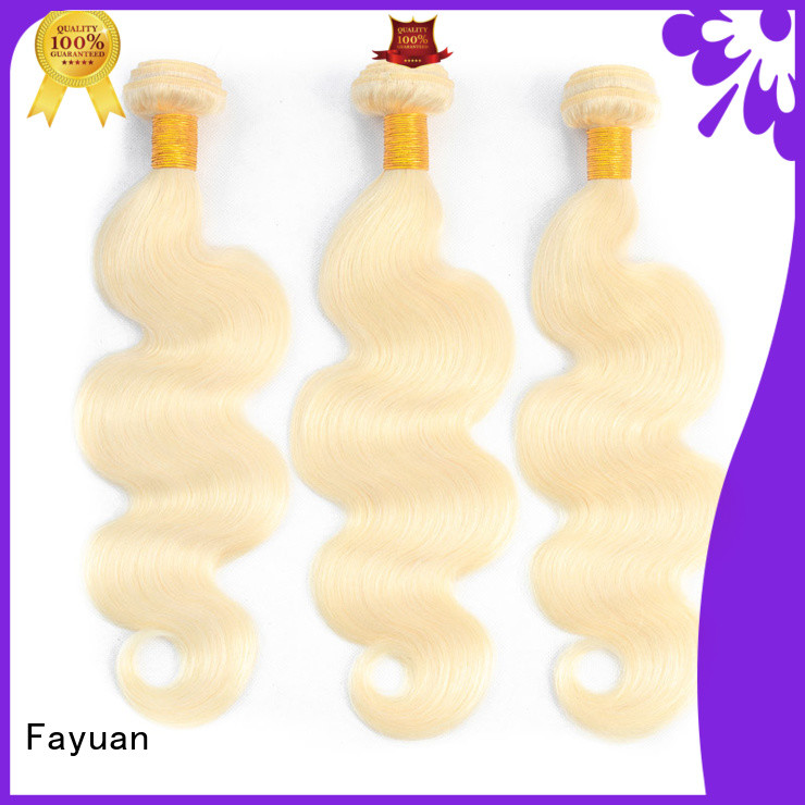 Fayuan Latest brazilian hair extensions bundles factory for barbershop