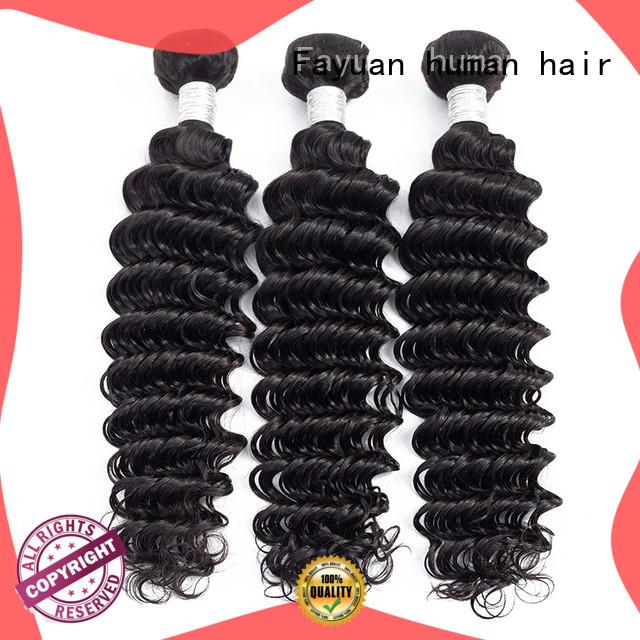 Fayuan bundles peruvian hair bundle deals Supply for women