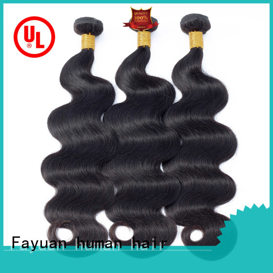 Fayuan Wholesale peruvian hair weave for sale for business for men