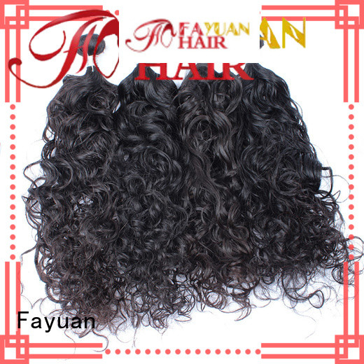 Fayuan curl malaysian curly hair bundle deals company for selling