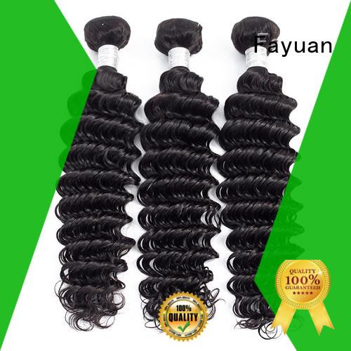 Fayuan bundles wavy weave wave home