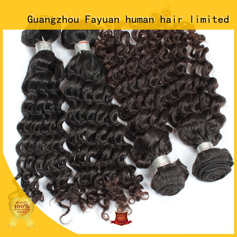 wave malaysian curly hair malaysian for selling Fayuan