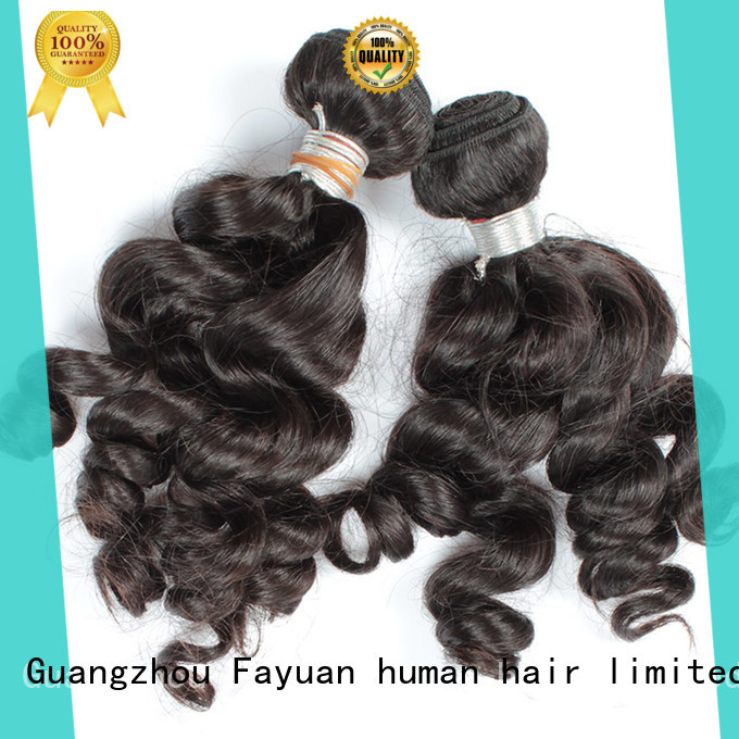 Fayuan Top indian human hair price company for selling
