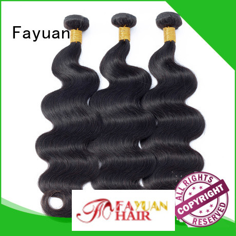 Fayuan Custom peruvian hair bundles for sale Supply for selling