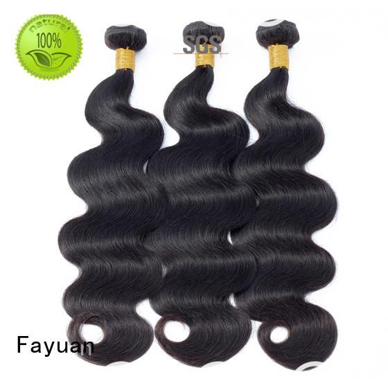 Fayuan New curly peruvian hair weave factory for men