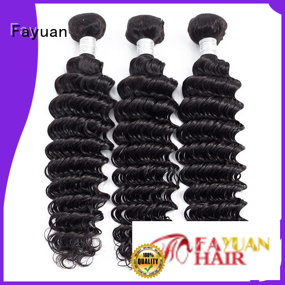 Fayuan Top peruvian hair bundle deals manufacturers for barbershop