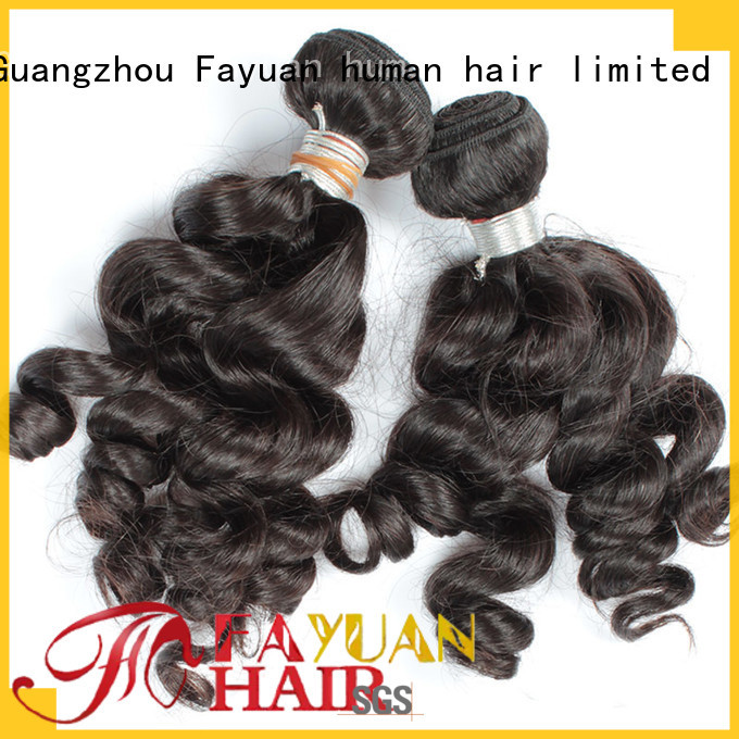 Fayuan wave indian hair wigs Supply for women