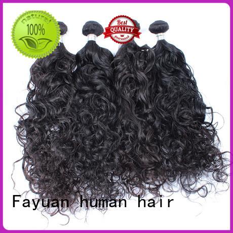 malaysian human hair virgin for barbershopp Fayuan