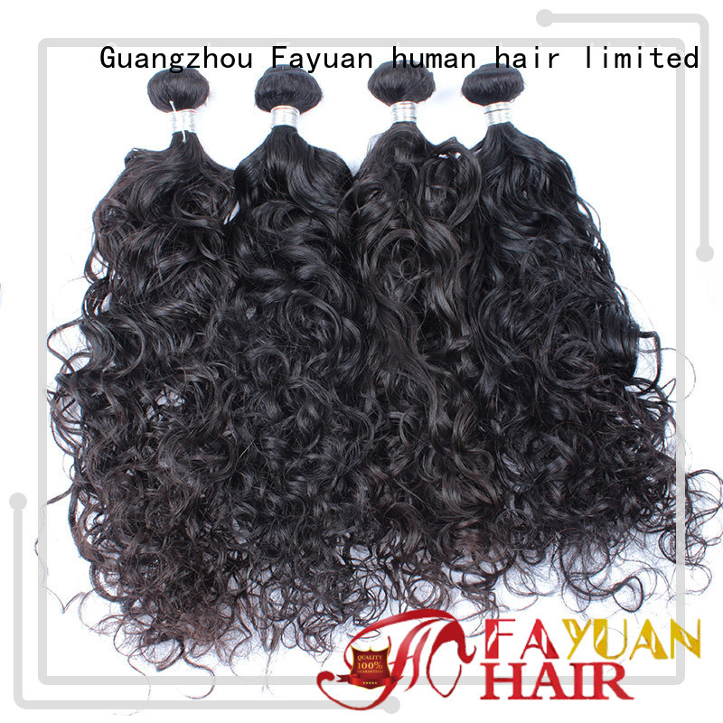 Fayuan virgin malaysian human hair bundles for business for street
