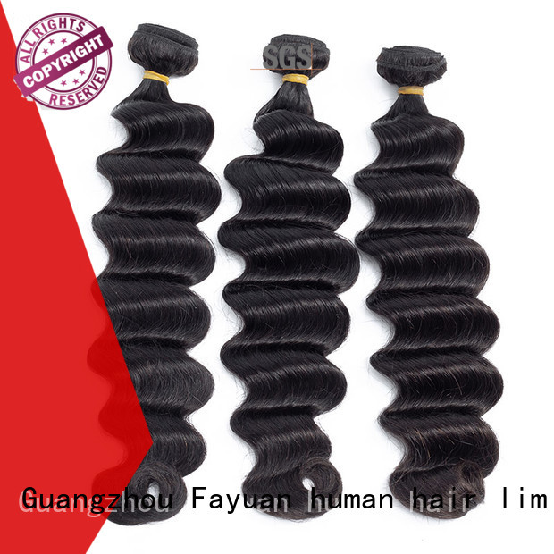 Fayuan Wholesale curly human hair Supply for street