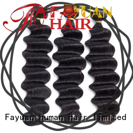 Fayuan grade human hair suppliers in india factory for selling