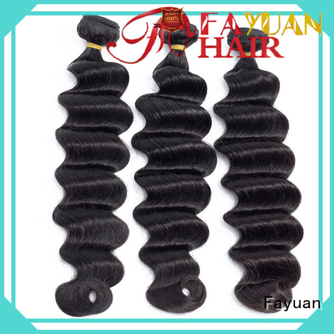Fayuan High-quality indian hair weave for cheap factory for selling