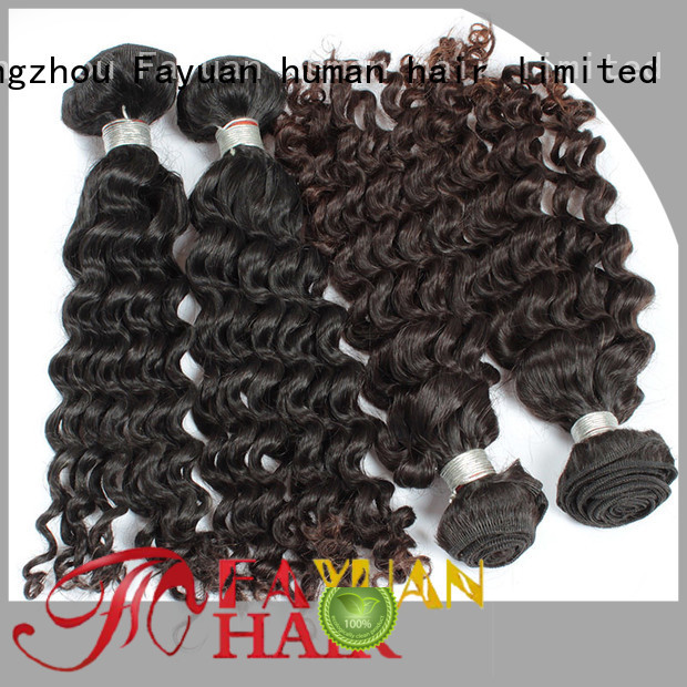 Fayuan High-quality malaysian hair weave bundles Suppliers for women