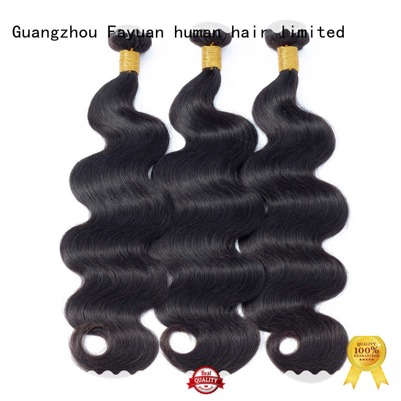 Fayuan bundles straight wavy hair virgin for men