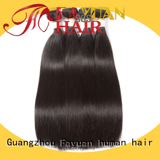 Fayuan High-quality brazilian hair bundles wholesale for business for men