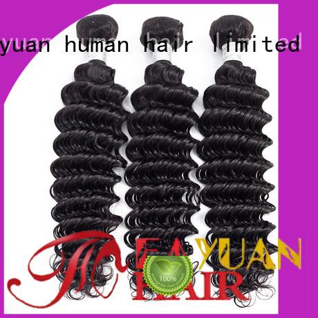Fayuan grade peruvian hair weave manufacturers for barbershop
