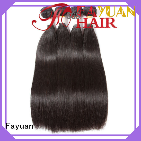 Fayuan Latest best human hair weave manufacturers for street