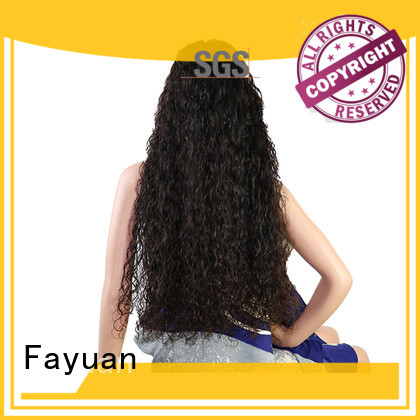 Fayuan deep custom made wigs online factory for street