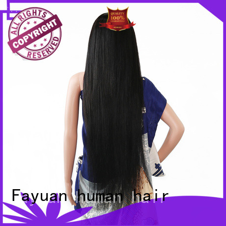 Fayuan Best custom wig prices manufacturers for street