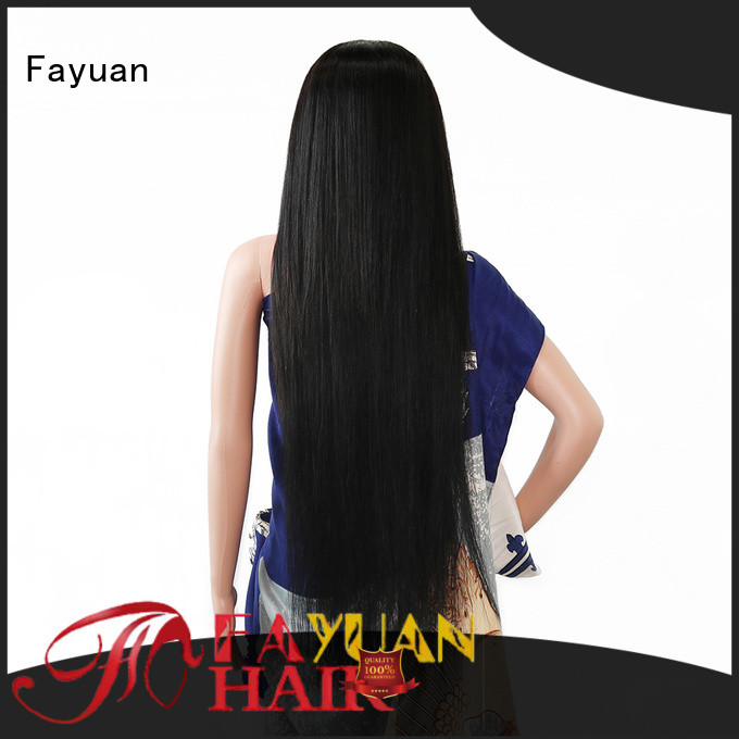 Fayuan Wholesale custom wigs near me company for street