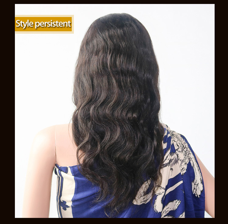 Wholesale Cuticle Aligned Unprocessed Brazilian Hair Virgin Human Hair Full Lace Wigs-4