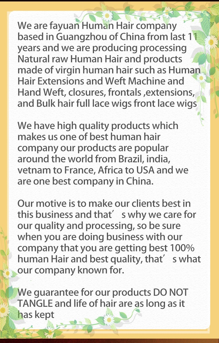 Fayuan professional Full Lace Wig manufacturer for women-12