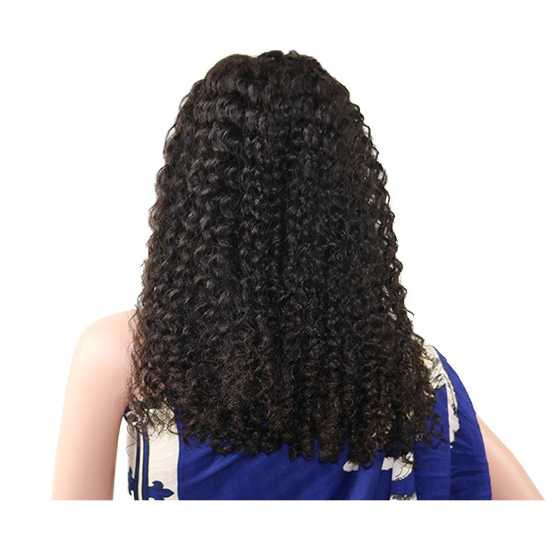Xmas Sales Best Grade Curly Lace Frontal Wig