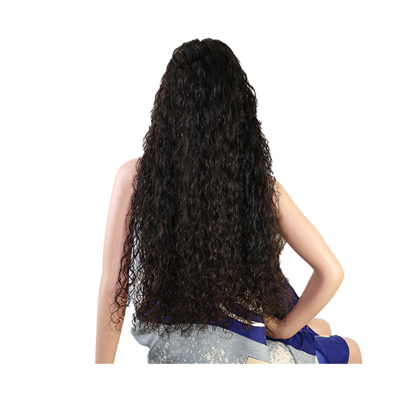 Holiday Sales Deep Wave Human Hair Lace Frontal Wig