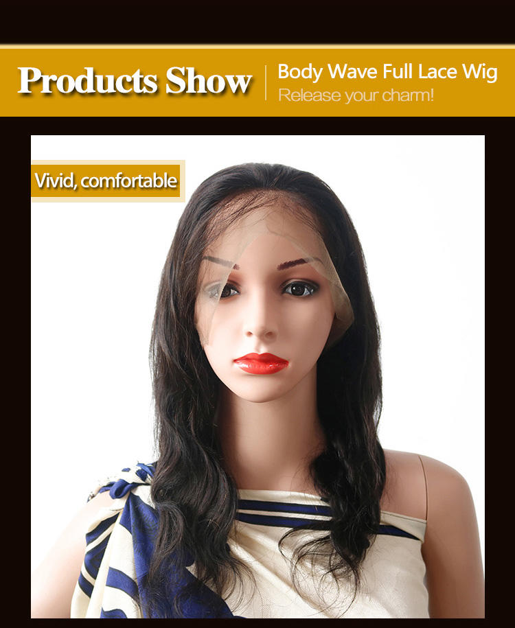 High-quality full lace front wigs grade Supply for selling-3