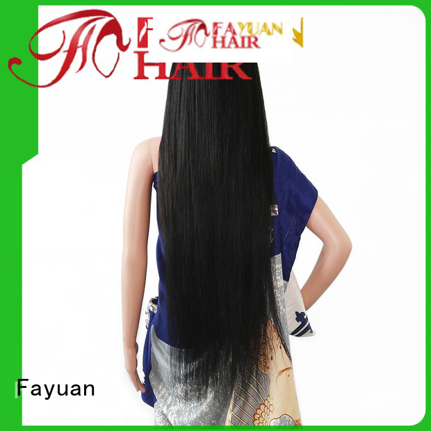 Fayuan straight custom lace wigs for sale Supply for barbershop