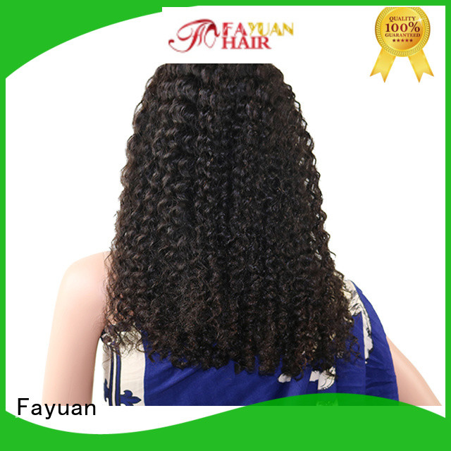 Fayuan grade top lace front wigs manufacturers for men
