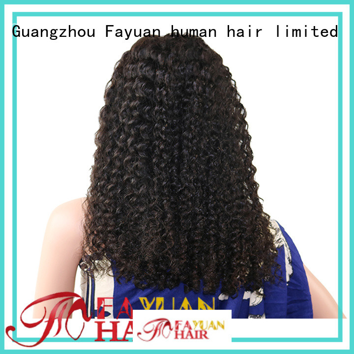 Fayuan sales best quality lace front wigs company for women